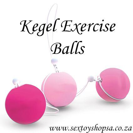 Tighten your pelvic floor muscles by doing kegel exercises! Have a better orgasm! http://www.sextoyshopsa.co.za/online-shop/kegel-exercise-toys