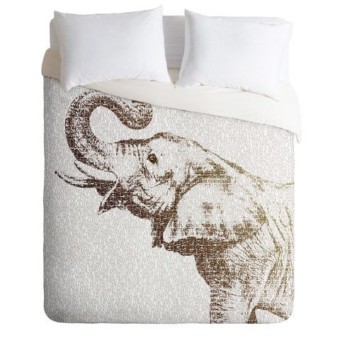 DENY Designs Home Accessories   Belle13 The Wisest Elephant Duvet Cover