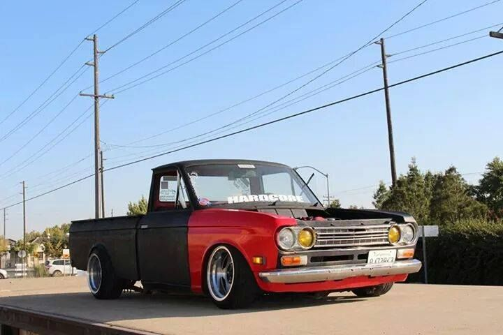Datsun 620 Static Body Dropped Irs Rear Swapped 4