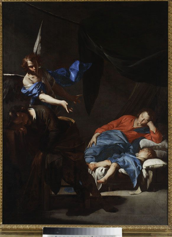 Bernardo Cavallino, Sen św. Józefa, XVII w.