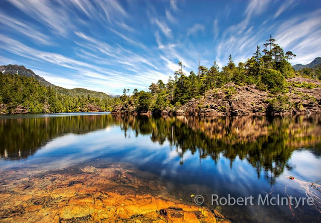 A photograph of Kennedy Lake on Vancouver Island,British Columbia More at www.imagesbyrob.blogspot.com