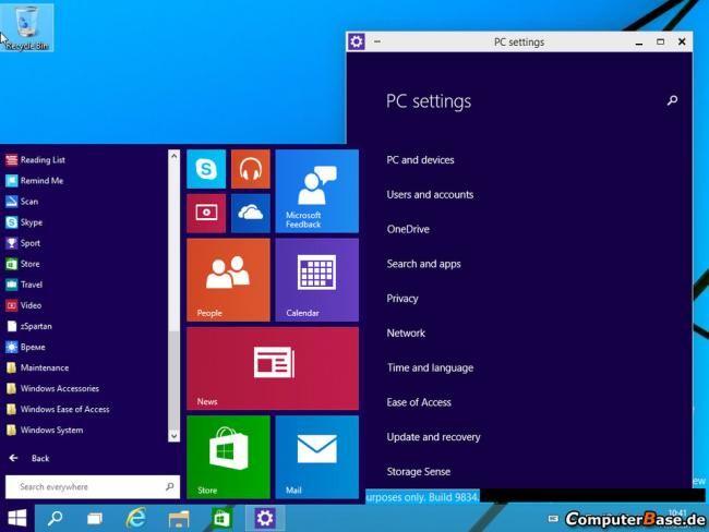 Windows 9 en acción: primer vídeo del nuevo menú inicio...