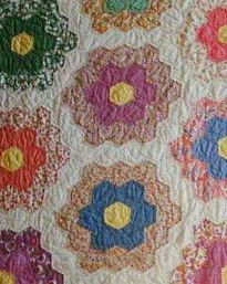 1000 images about quilts grandmother 39 s flower garden on pinterest grandmothers quilting for Grandmother flower garden quilt pattern variations