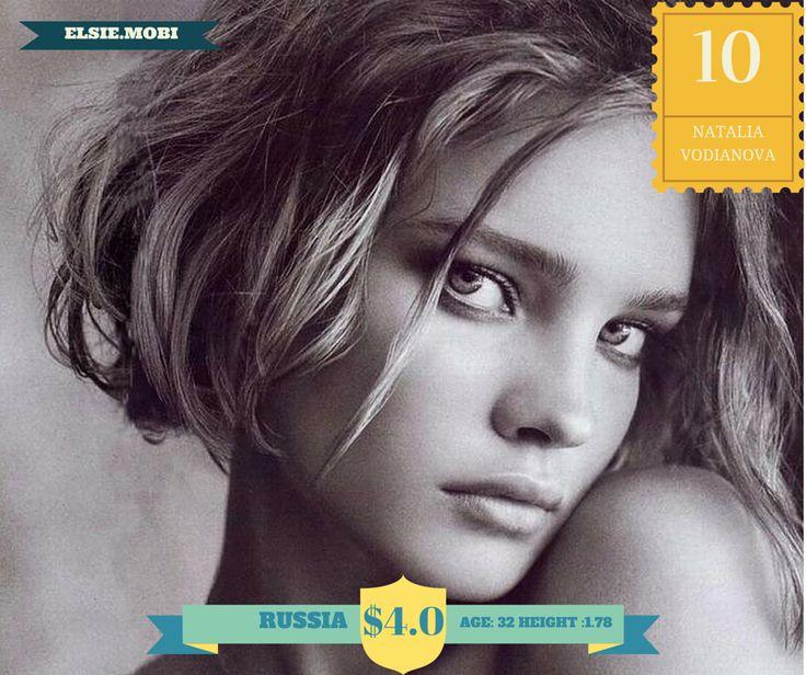 Natalia Vodianova - Calvin Klein Euphoria, Guerlain, Etam