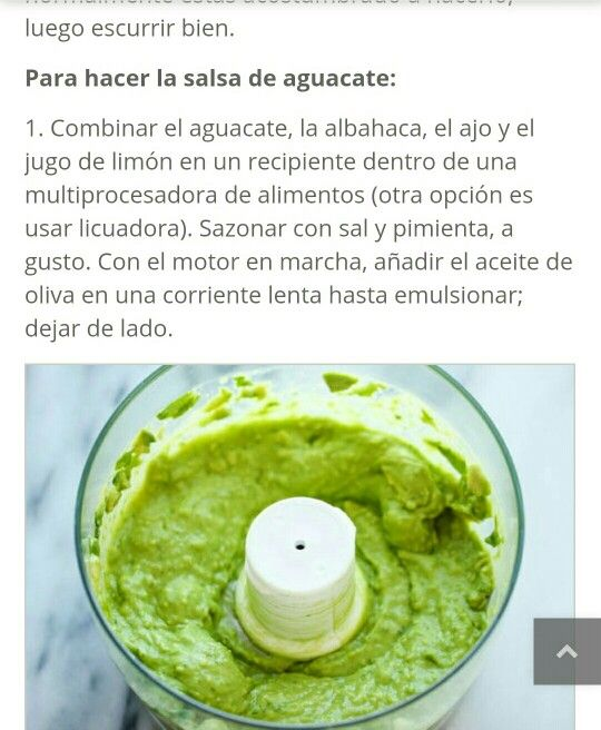 pasta salsa de aguacate 2