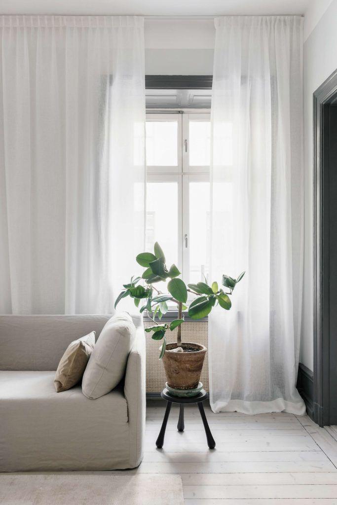 fina gardiner till vardagsrummet