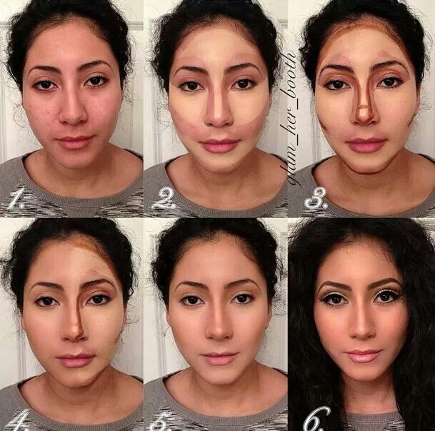 Enjoyable 1000 Ideas About Contouring Oval Face On Pinterest Oval Faces Short Hairstyles Gunalazisus