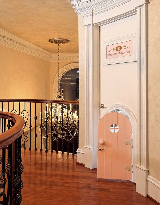 The entrance to a princess bedroom in Virginia designed by Dahlia Mahmood of Dahlia Designs. The budget for the 2-year-old's room: $200,000. Photo: Dahlia Design LLC