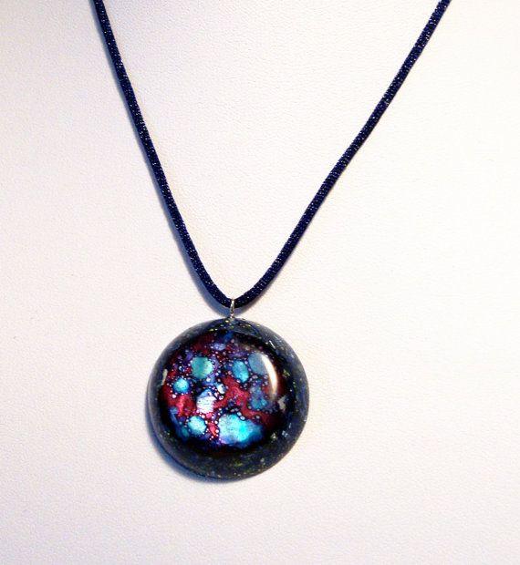 Orgone  orgonite pendant Cosmos Mother of by OrgoniteCreations