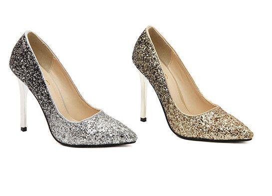 Pumpen 2014 Frauen High Heels Schuhe Sexy Spitz Partei High Heels Gold Hochzeit Schuhe Casual Damen Schuhe Weibliche //Price: $US $18.72 & FREE Shipping //     #abendkleider
