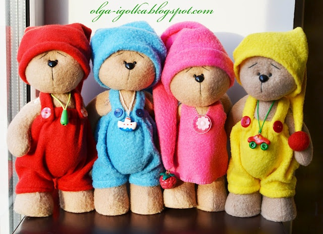 Иголкин уголок... / Needle Nook...: Мишки/Teddy bears