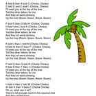 Songs based on the book Chicka Chicka Boom Boom....  FREE