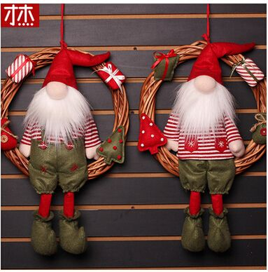Encontrar Más Pendant & Drop Adornos Información acerca de Noel 2017 Navidad 47 Cm X 30 Cm Colgante De Navidad Chrsitmas Gota Adornos de Navidad Decoraciones Para El Hogar, alta calidad decorations for home, China decorative decorative Proveedores, barato decoration for christmas de FENGCHAO Store en Aliexpress.com