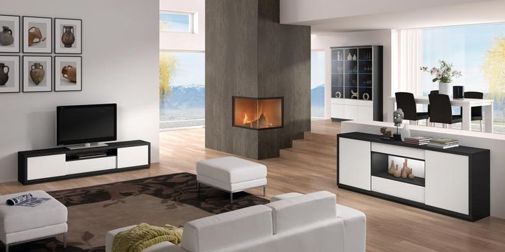 37 best images about salones y comedores coleccion ona on for Mueble bajo comedor