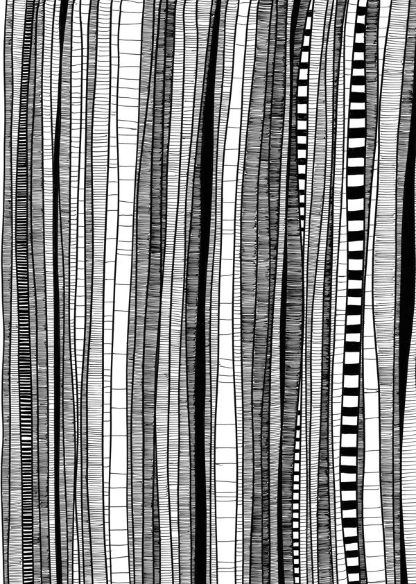 Trees by Patricia Kleeberg, would make a great wallpaper