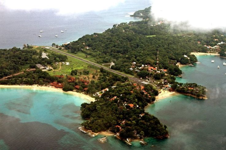 Isla Contadora, Panama. Located in the Pearl Island archipelago in the Gulf of Panama. The island is where the Spanish would count the pearls harvested on the other islands and is where the exiled Shah of Iran stayed for a brief period in 1980.