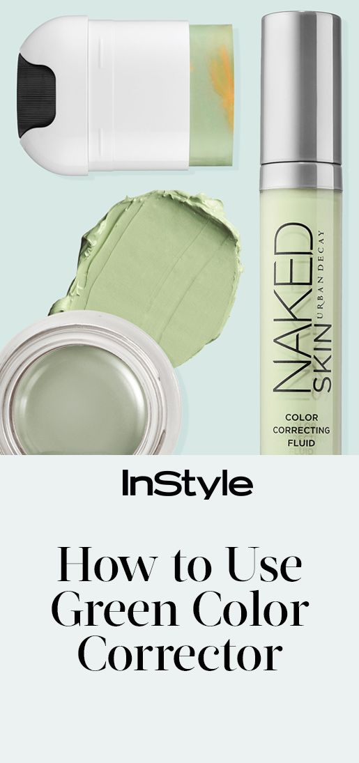 How to Use Green Concealer from InStyle.com