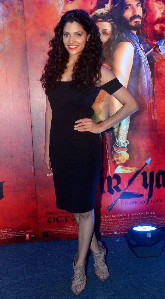 Saiyami Kher at #Mirzya screening. #Bollywood #Fashion #Style #Beauty #Hot #Sexy