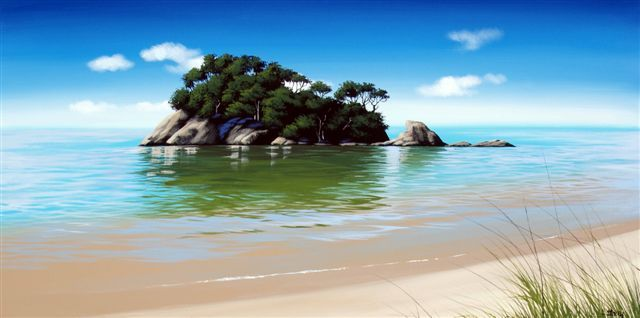 Check out Little Kaiteriteri by Linelle Stacey at New Zealand Fine Prints