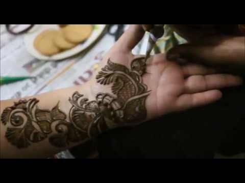 How To Make Mehndi Design:Time Lapse Henna Mehendi Tutorials
