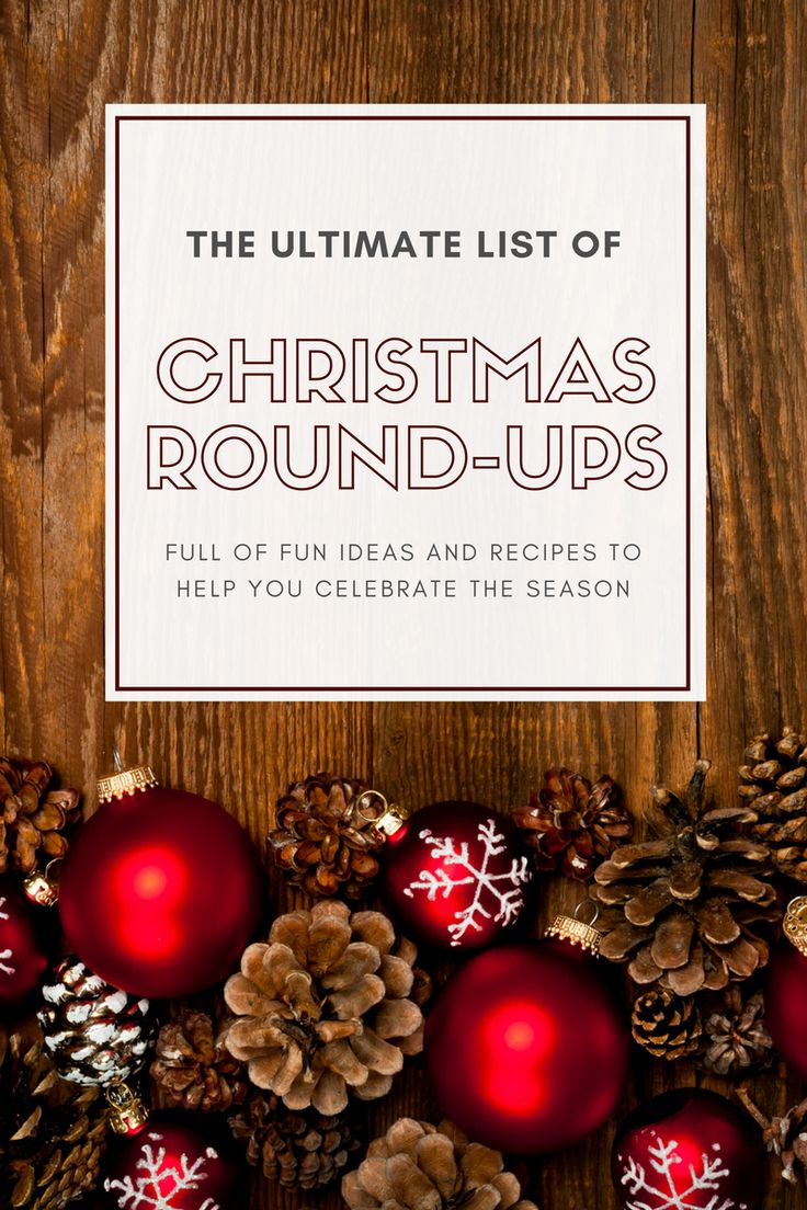 The Ultimate List of Christmas Round-Ups   Rounding and Holidays
