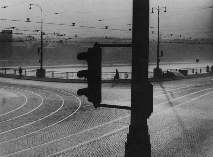 vaclav chochola:  dusk at the crossroads 1958