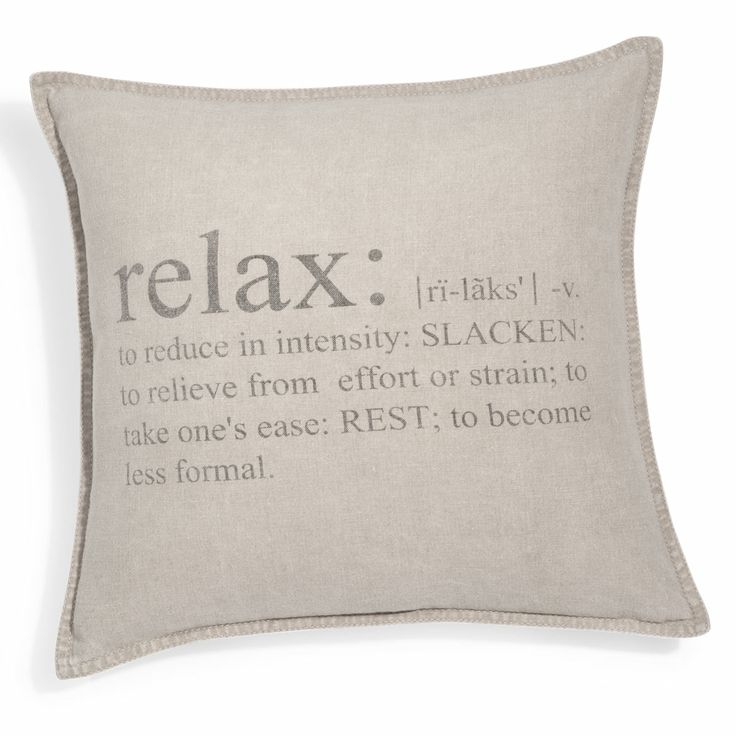 Housse de coussin Relax