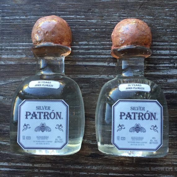 Tequilla Patron Liquor Mini Sugar Bottles for Cupcake | Etsy