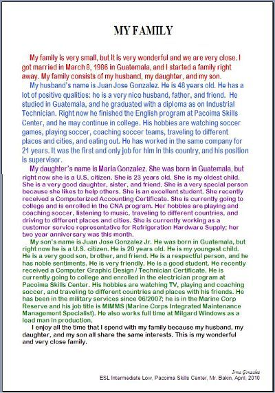 002 family orgin essay examples Yahoo Image Search Results