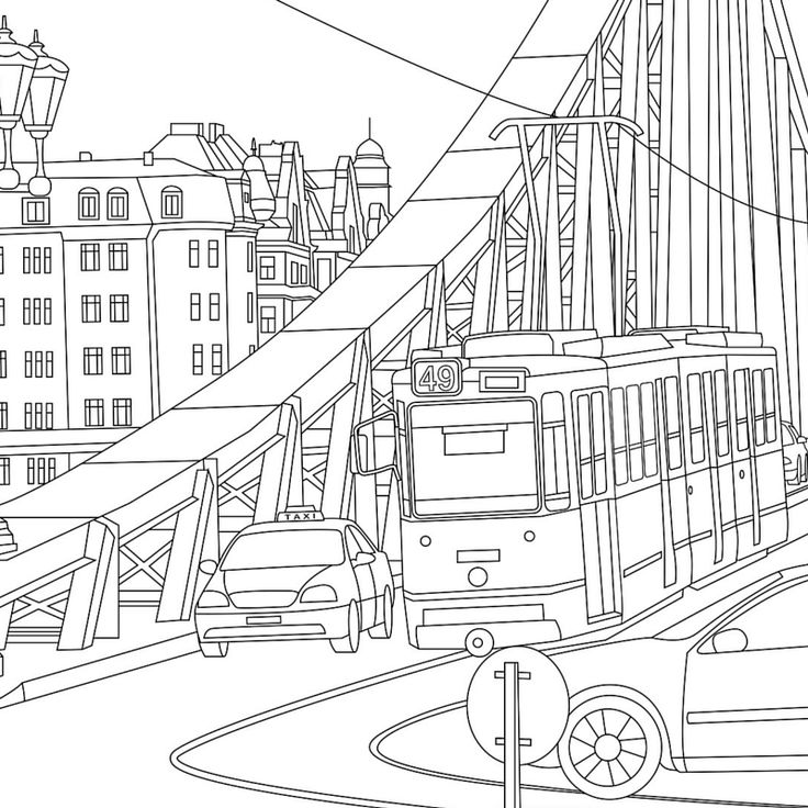 TravelThemed Coloring Books…Created from Real Life