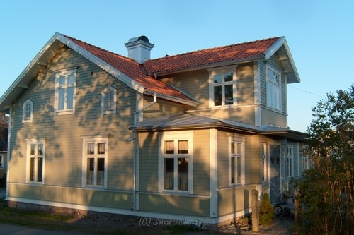 huset sekelskifteshus nyrenoverat hus fasadrenoverat hus