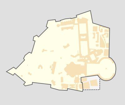 Mapa del Estado de la Ciudad del Vaticano. ◆Ciudad del Vaticano - Wikipedia http://es.wikipedia.org/wiki/Ciudad_del_Vaticano #Vatican