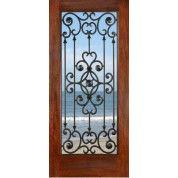 """FD1LSavannah - Mahogany Savannah (1-3/4""""). ETO doors"""