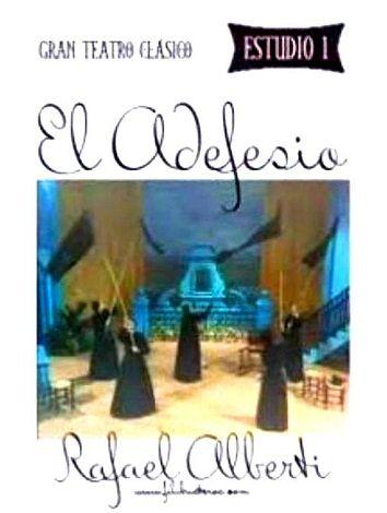 Teatro - Estudio 1 - El Adefesio - (1982):