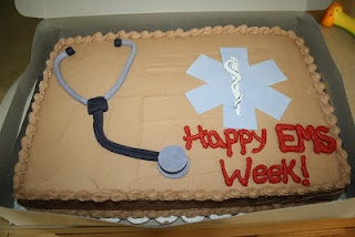 JillyCakes- My cake blog! Happy EMS Week! :)