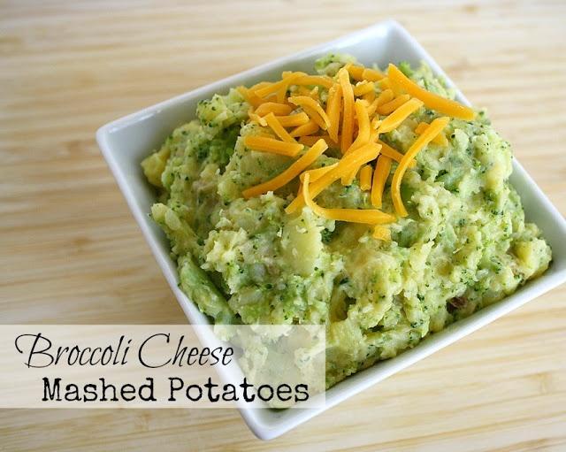 Broccoli Cheese Mashed Potatoes