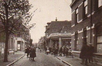 Nieuwstraat Hengelo (jaartal: 1910 tot 1920) - Foto's SERC
