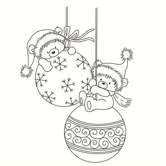 Online Shop Weihnachten Bar Transparent Klar Silikon Stempel Dichtung Fur Diy Scrapbooking Weihnachtsmalvorlagen Weihnachten Zeichnung Ausmalbilder Weihnachten