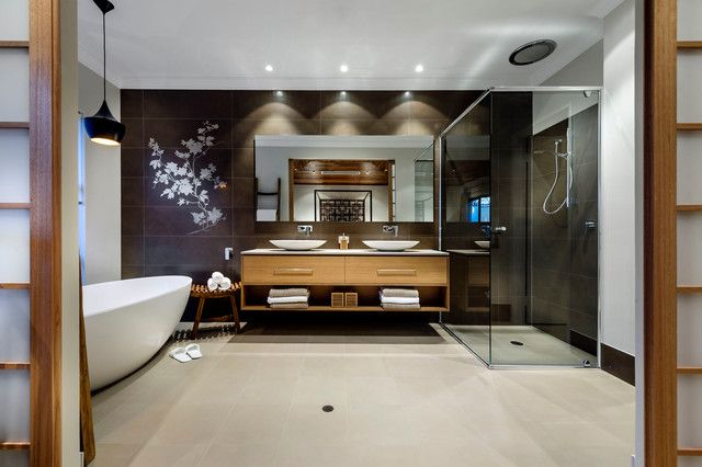 20 Asian Stylish Bathroom Design Ideas (WITH PICTURES)