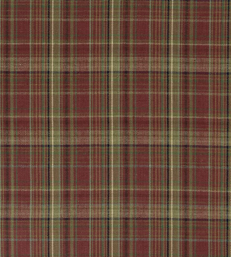 Christmas at Home | Meriden Plaid Fabric by Ralph Lauren | Jane Clayton