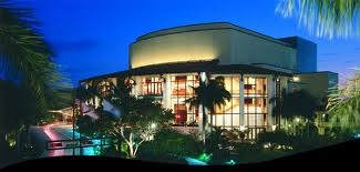Broward Performing Arts Center in Fort Lauderdale, Florida.