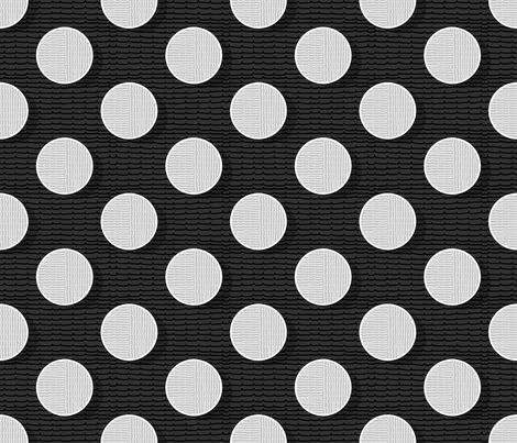 pois in negative 50 fabric by chicca_besso on Spoonflower - custom fabric