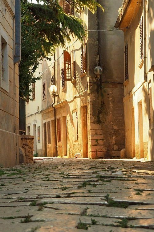Old Town of Poreč , Istria, Croatia | by Marion Eberle