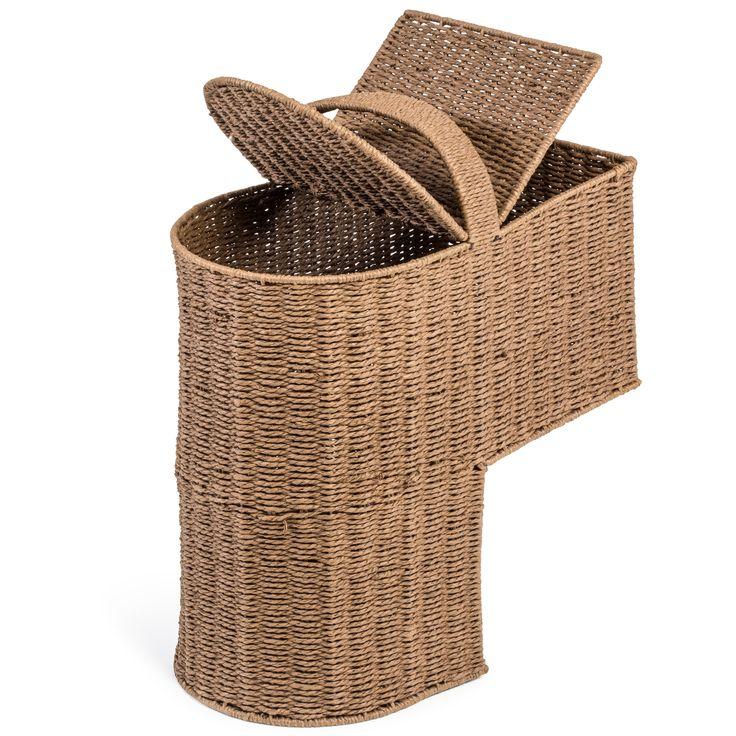 Storage Stair Basket with Handle | Wayfair