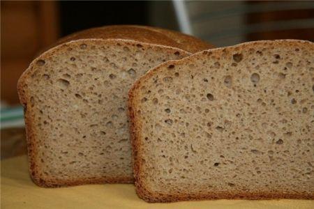 Рецепт - Ржаной хлеб на закваске