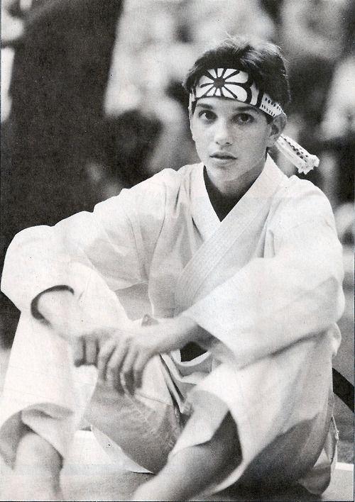 Tumblr - Who didn't love Ralph Macchio - The original Karate Kid.                                                                                                                                                                                 More
