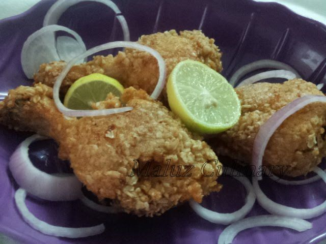 Indian Style Homemade KFC