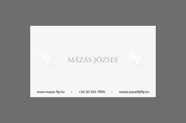 Business Card - New Version with Gray Text