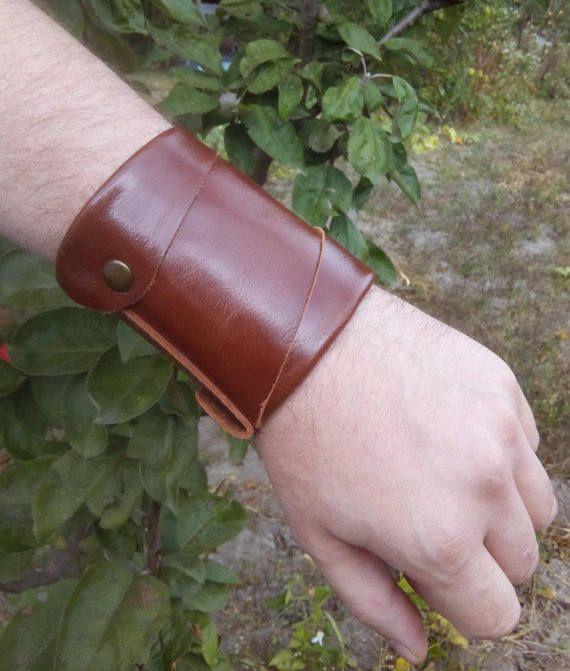 Unique Gift For Him Military Wallet Mens Wrist Wallet Gift