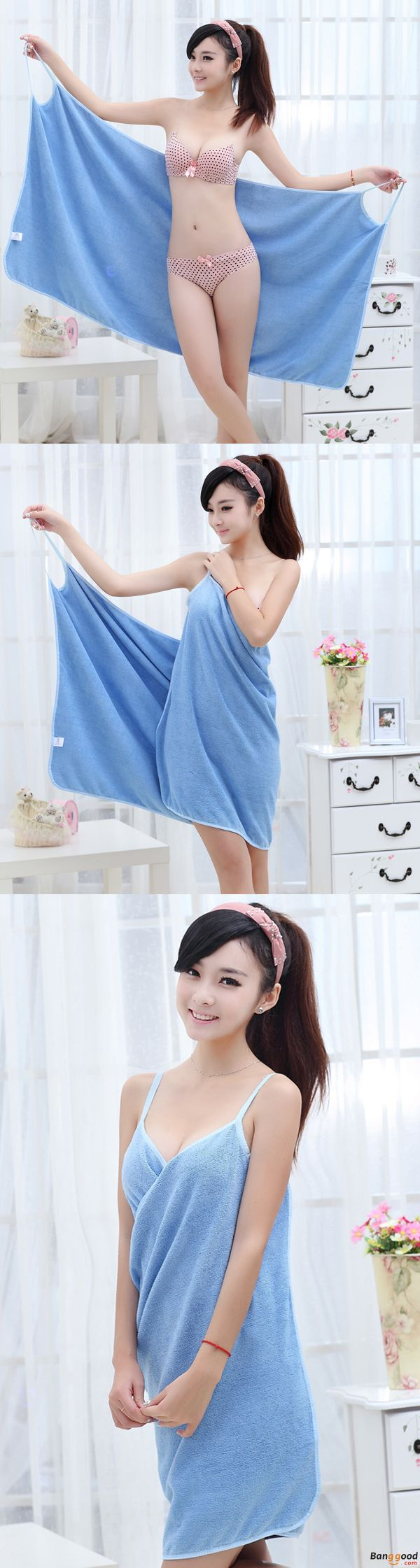 US$11.99 + Free shipping. Soft Washcloth, Bath Towel, Shoulder Straps Wearable Bath Towel, Beach Cloth, Beach Spa Bathrobes, Bath Cloth. Color : Pink, Purple, Blue, White, Peach Red, Rose, Green, Orange. Things can be So Convenient.